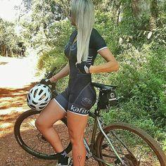 Cross country biker