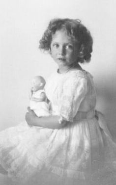 HRH Princess Katherine of Greece (1913-2007), the youngest child and daughter of King Konstantin I. and Queen Sophie of Greece
