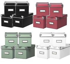 4-x-NEW-Ikea-Kassett-Billy-Bookcase-CD-  sc 1 st  Pinterest & KASSETT Magazine file - green - IKEA | Work Office ideas | Pinterest ...