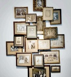 displaying old photographs