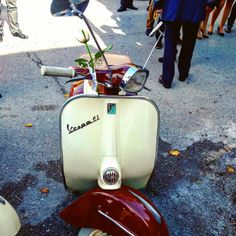 Wedding gl vespa