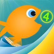 Motion Math: Hungrig Fisk - Mata fisk och öva på addition och subtraktion (F-åk 3)