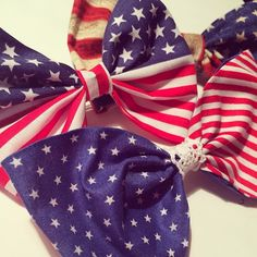 There is always a reason for an American Flag bow.