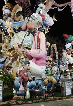 Valencia, Character Modeling, Concept Art, Street Art, Carnival, Spain, Decorations, Models, Flowers