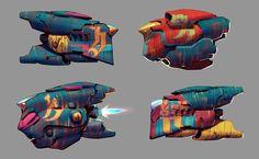 ArtStation - Ugi Ships, Ben Hale