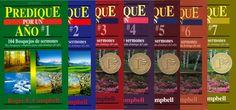 """Colección """"Predique por un Año"""" por $50.000 solo al llevar el pack (7 libros)"""