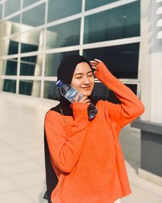 Ootd Hijab, Girl Hijab, Hijab Outfit, Modest Fashion, Hijab Fashion, Fashion Outfits, Cute Baby Girl Pictures, Girl Photos, Hijab Ideas