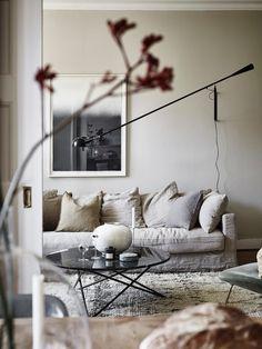 67 ideas for living room scandinavian style ikea interior design Living Room Sofa, Living Room Furniture, Living Room Decor, Living Spaces, Living Rooms, Earthy Home Decor, Scandinavian Living, Scandinavian Design, Scandinavian Apartment
