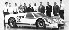 Ford styling team who designed and built clay J car Mustang Old, Ford Mustang, Vintage Cars, Antique Cars, Vintage Auto, Models Men, Mini Car, Ford Shelby, Ford Gt40