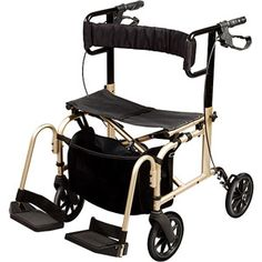 Carex Ultra Ride Roller Walker A22800 From Walmart -- Jim likes it, but I think it's too bulky