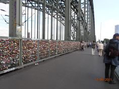 Cologne Germany-locking hearts