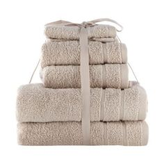 Home+Collection+Basics+Taupe+super-soft+cotton+towel+bale-+at+Debenhams.com