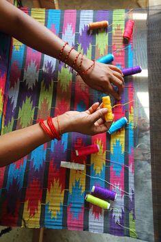 Dhaka nepali pattern #handloom