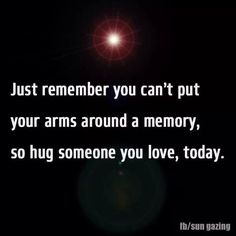 Just remember..