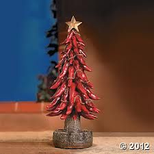 Chili Pepper Christmas Tree