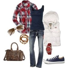 I love this look all put together! And this is actually stuff I have in my closet!
