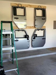 Storage for Jeep doors