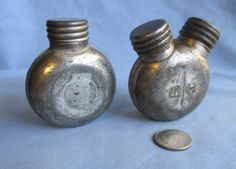 Gun Oil and Solvent Cans Vintage Russian by HobbitHouse on Etsy