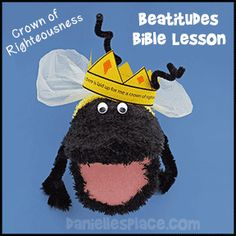 Crown of Rightousness beatitude bea puppet from from www.daniellesplace.com