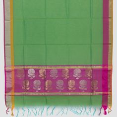 Marm Handwoven Chanderi Silk Cotton Dupatta 10000680 - AVISHYA.COM