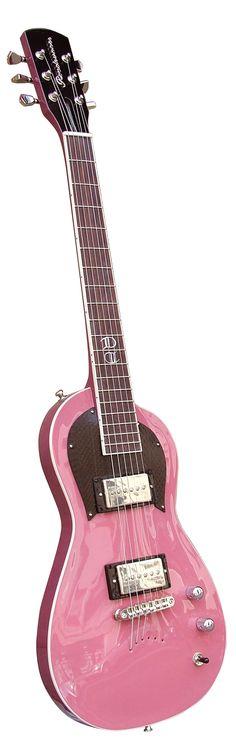Roadrunner Guitars Little Odessa in Pink