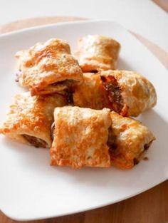 Kleine saucijzenbroodjes uit de airfryer – Foodaholic