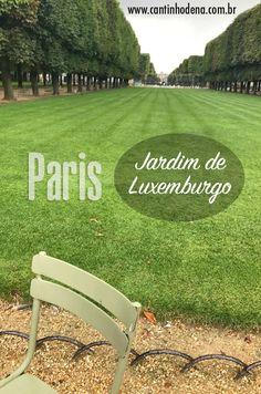 As belezas do Jardim de Luxemburgo em Paris, um parque no centro da cidade muito frequentado pelos parisienses e visitado por turistas. #france #franca #paris #europa #cantinhodena