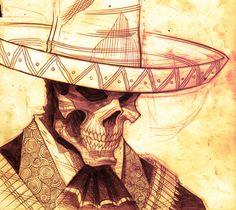 """Mexico Week:Tradd Moore  """"Sombreros. Bandoliers. Skulls. MEXICO."""""""