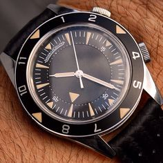 Jaeger-LeCoultre Memovox Tribute to Deep Sea