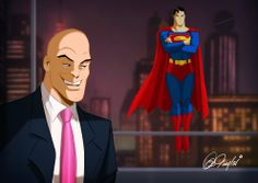 Luthor! The Smugness of it all - by Des Taylor.