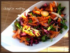 serapin mutfagi: Sonbahar salatasi.