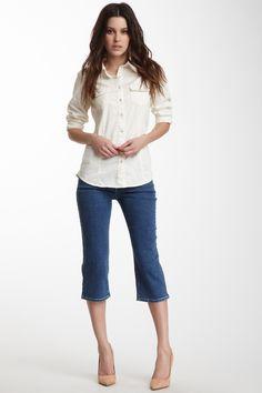 NYDJ Petite Ariel Crop Jean
