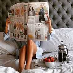 #goodmorning #breakfast #strawberry #coffee #coffeetime #newspaper #fashionista #fashion #look #inspration #hair #hairstyle #hairstylist #tattoo #today #photo #womanstyle #makeup #girl #lookoftheday #lookinsweet #sun #summer #shinnyhairallday #shinny #street #streetstyle #girl #swim #pool #blue #swim