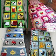 Knot Your Nana's Crochet: Crochet Applique Base Blankets