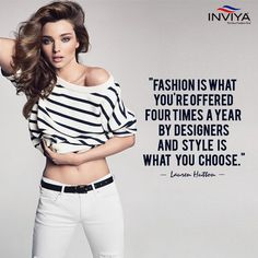 Fashion fades but style is eternal. #FashionQuotes