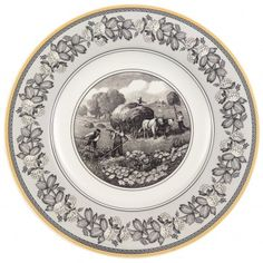 Audun Ferme Dinner Plate 10 1/2 in