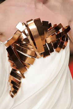 Stephane Rolland Spring/Summer 2011 Haute Couture Detail