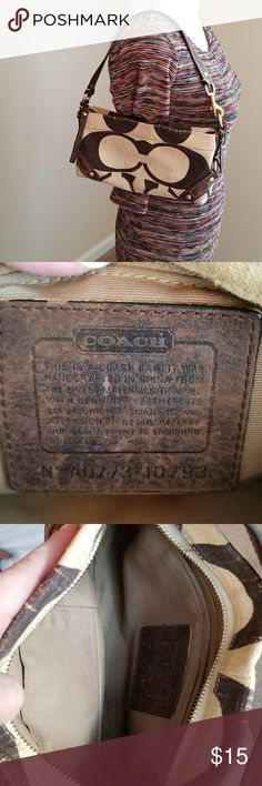Authentic Coach Purse Authentic Coach Purse. Used but still in good condition.. Coach Bags