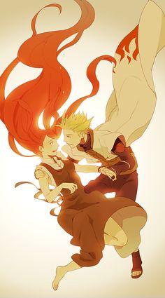 Naruto - Minato Namikaze x Kushina Uzumaki - MinaKushi Naruto Minato, Anime Naruto, Hinata, Manga Anime, Art Naruto, Naruto Gaiden, Naruto Cute, Naruto Shippuden Anime, Gaara