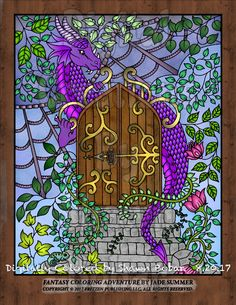 Artist Jade Summer Digital Creations By Shawn Bobar Digitally Colored Using Pigment IPad Pro