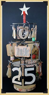 Another great idea to use 7gypsies atc & photo display!
