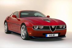 New Alfa Romeo Montreal Rendering - Unfortunately this just an artist's rendering, not a real model from Alfa..