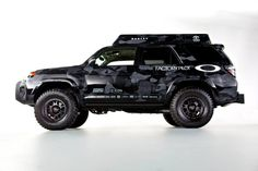 The OPTIMA-equipped Oakley Ultimate Dream Ski Toyota will debut at the… Toyota Tundra, 2017 Toyota 4runner, Toyota 4x4, Toyota Trucks, Toyota Corolla, Toyota Four Runner, Patrol Y61, Bug Out Vehicle, Vehicle Wraps