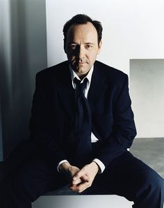 Kevin Spacey — chasingspacey:   Kevin Spacey poses for a portrait...