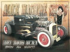 Hot Rods Built a New Old Sign from VivaChas ~:0)