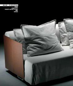 Sectional Sofa Flexform Sleeper sofa Headboard