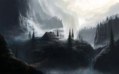 In the high mountains by Fel-X.deviantart.com