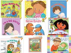 Book List for Preparing Siblings for A New Baby!