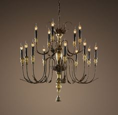 18th C. Bartolomeo Chandelier 40""