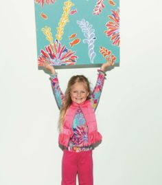 Adorable girls vest/colorful outfit...Lilly Pulitzer Resort '13 Girls